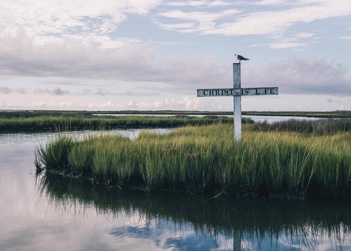 Christ is Life, Tangier Island, USA, Klima, Klimawandel, Hochwasser