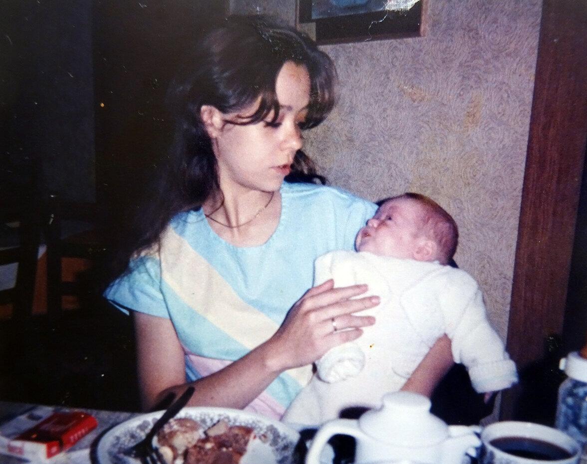 Christian und seine Mutter, 1985