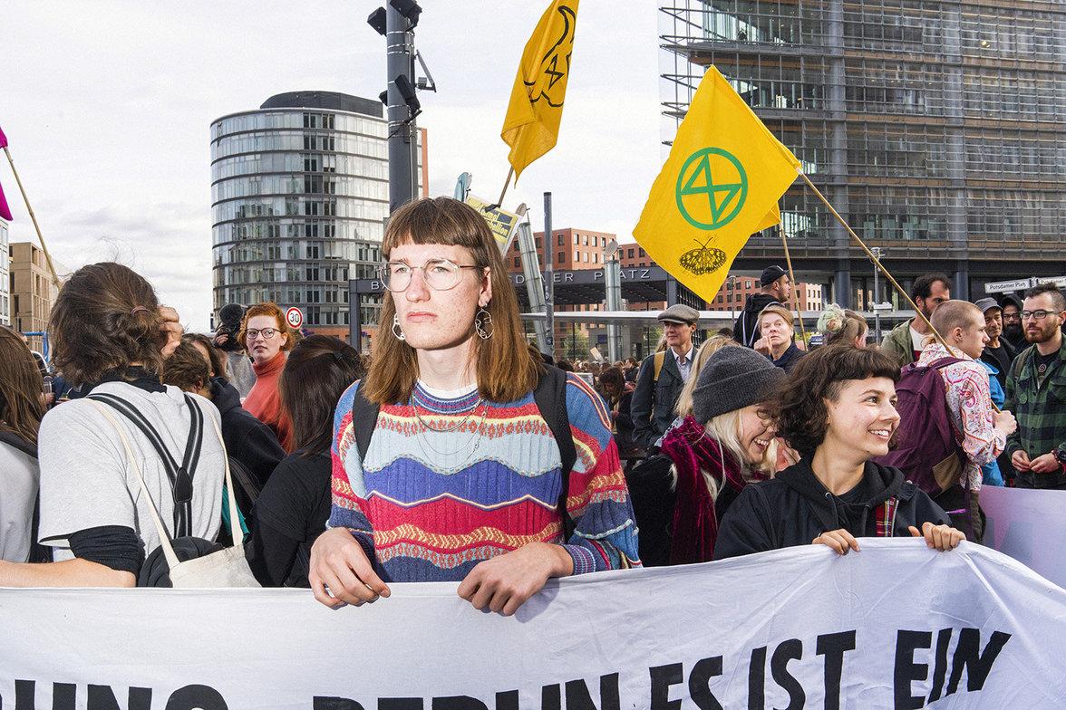 Klimademo in Berlin