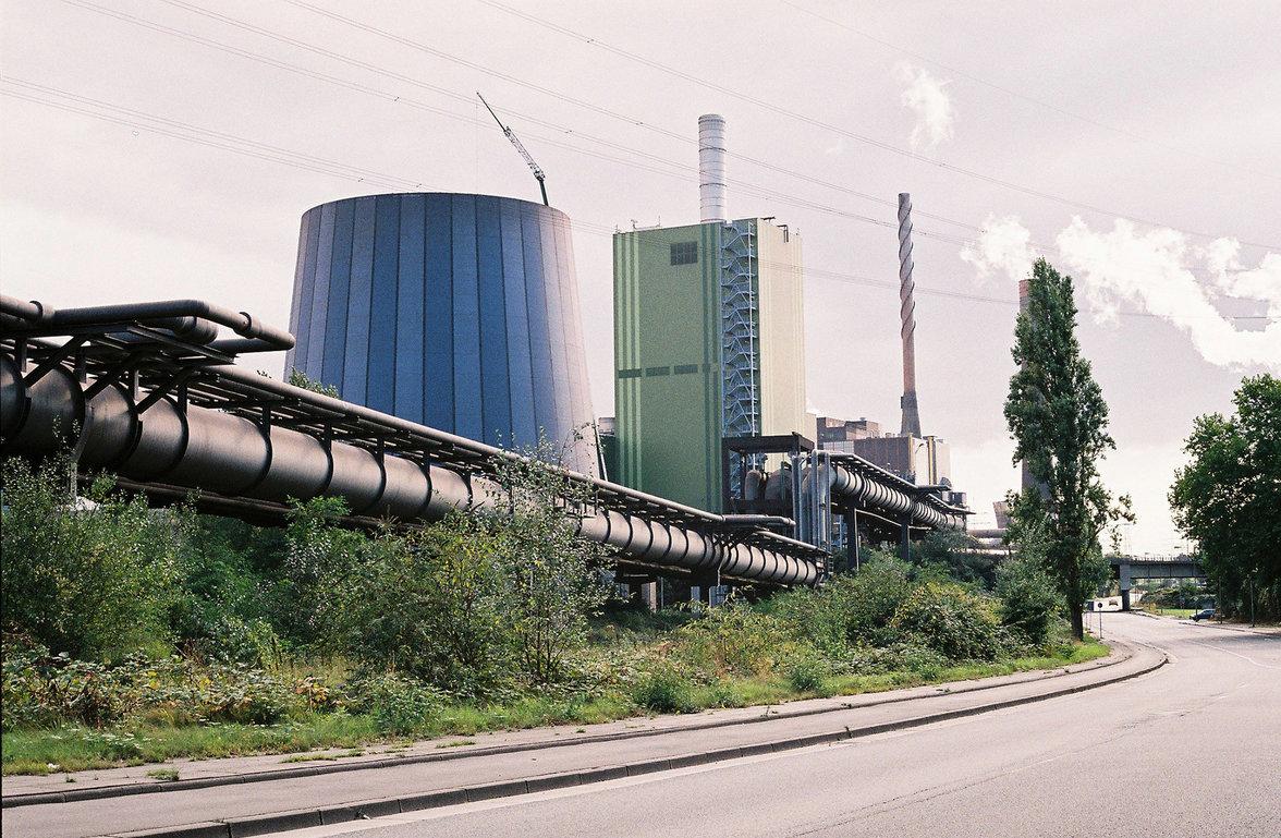Industriegebiet im Ruhrpott (Foto: Christian Werner)