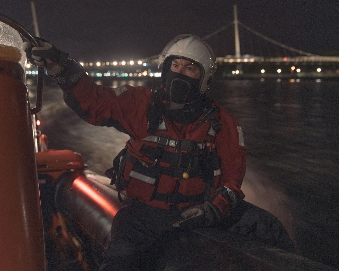 """Die """"Foyle Search and Rescue"""" rettet Lebensmüde bei Derry"""