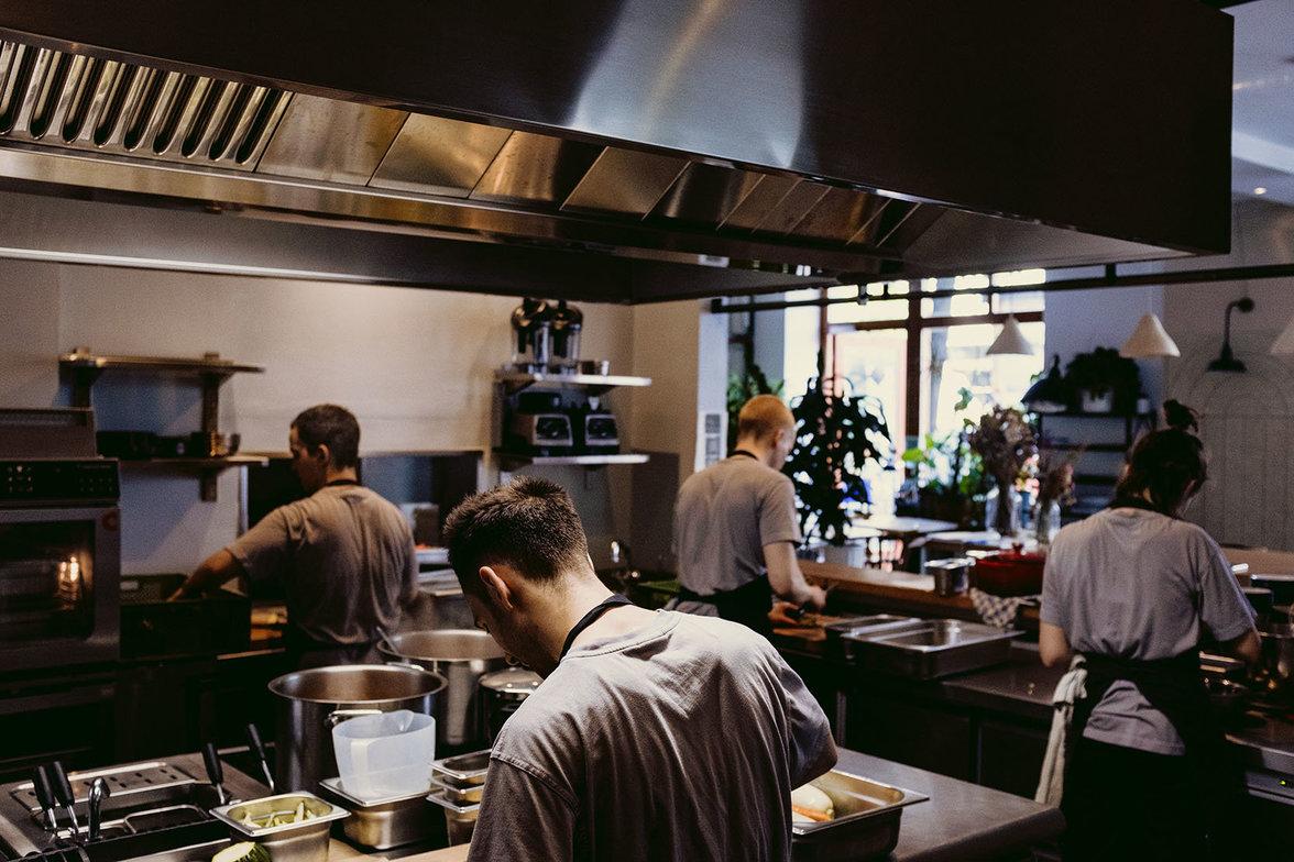 Die Küche des Frea
