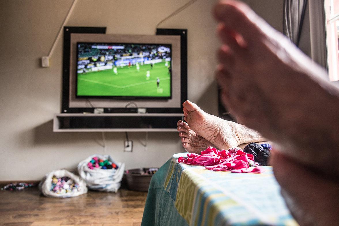 Fernsehen in Noiva do Cordeiro