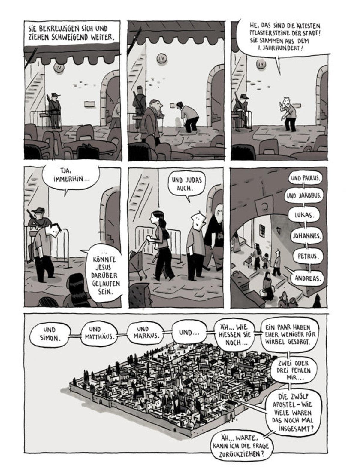 """""""Aufzeichnungen aus Jerusalem"""""""
