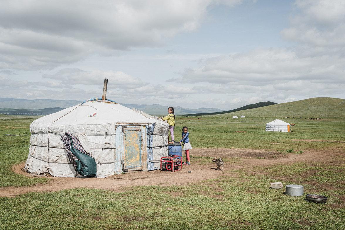 Mongolei, Ger districts, Klimawandel, Ulan Bator