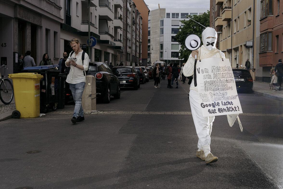 Hygienedemo, Berlin, Corona