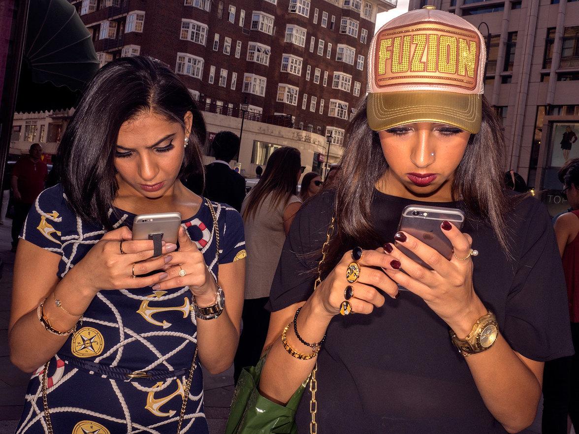 In sozialen Medien kann jeder selbst bestimmen, wie er oder sie rüberkommen will