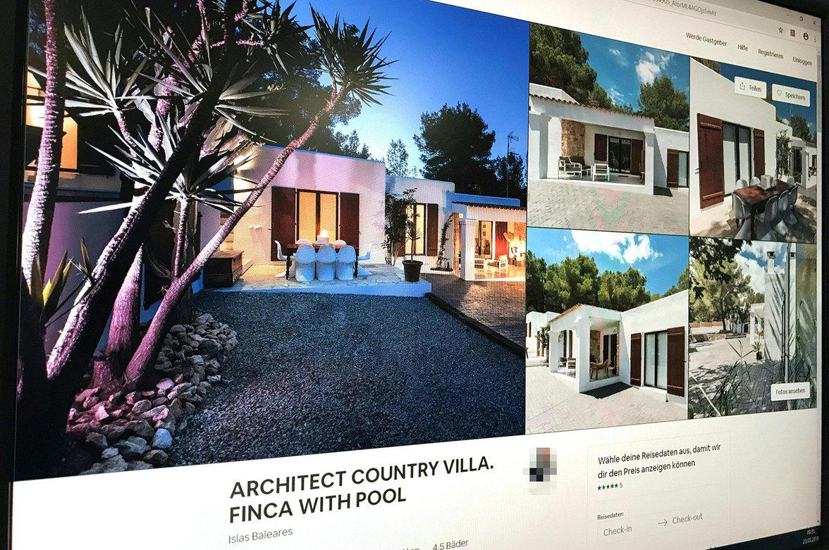 Die Villa aus dem Skandalvideo auf airbnb (Foto: picture alliance/APA/picturedesk.com) (Foto: picture alliance/APA/picturedesk.com)