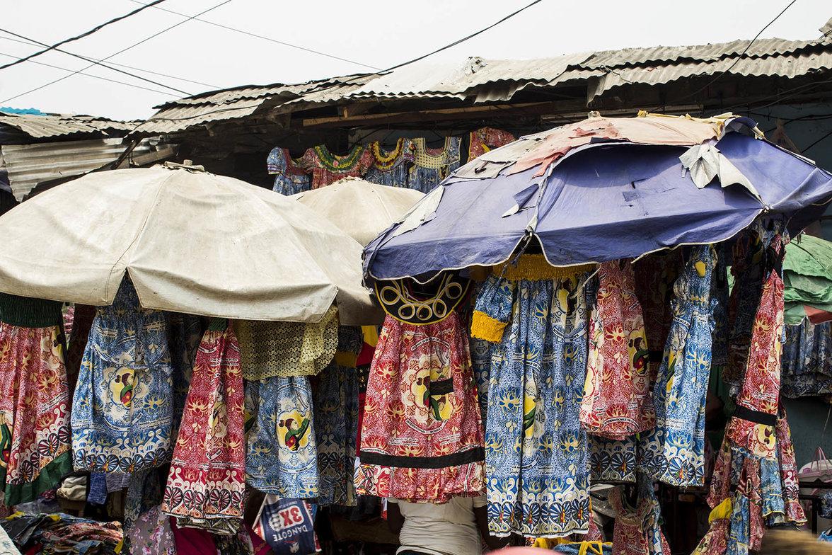 Kamerun, Frauentag, Markt