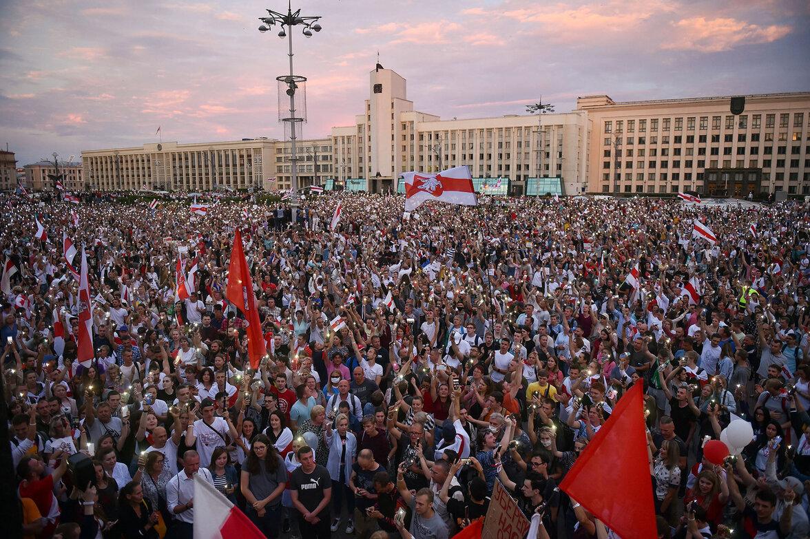 Proteste, Belarus (Foto:  Sergei Gapon/AFP via Getty Images)
