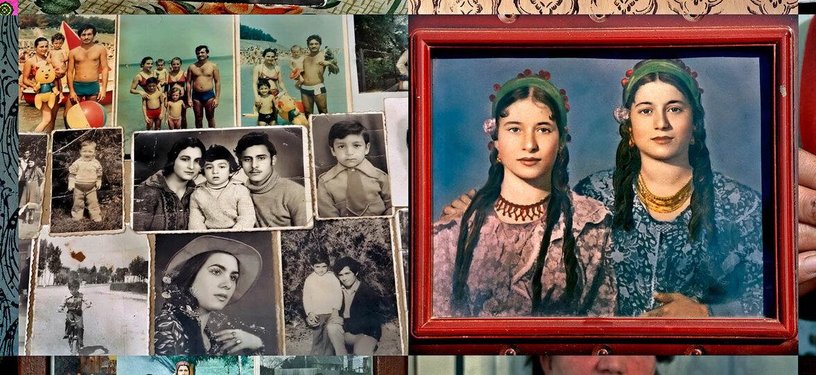 Sinti und Roma Familienfotos