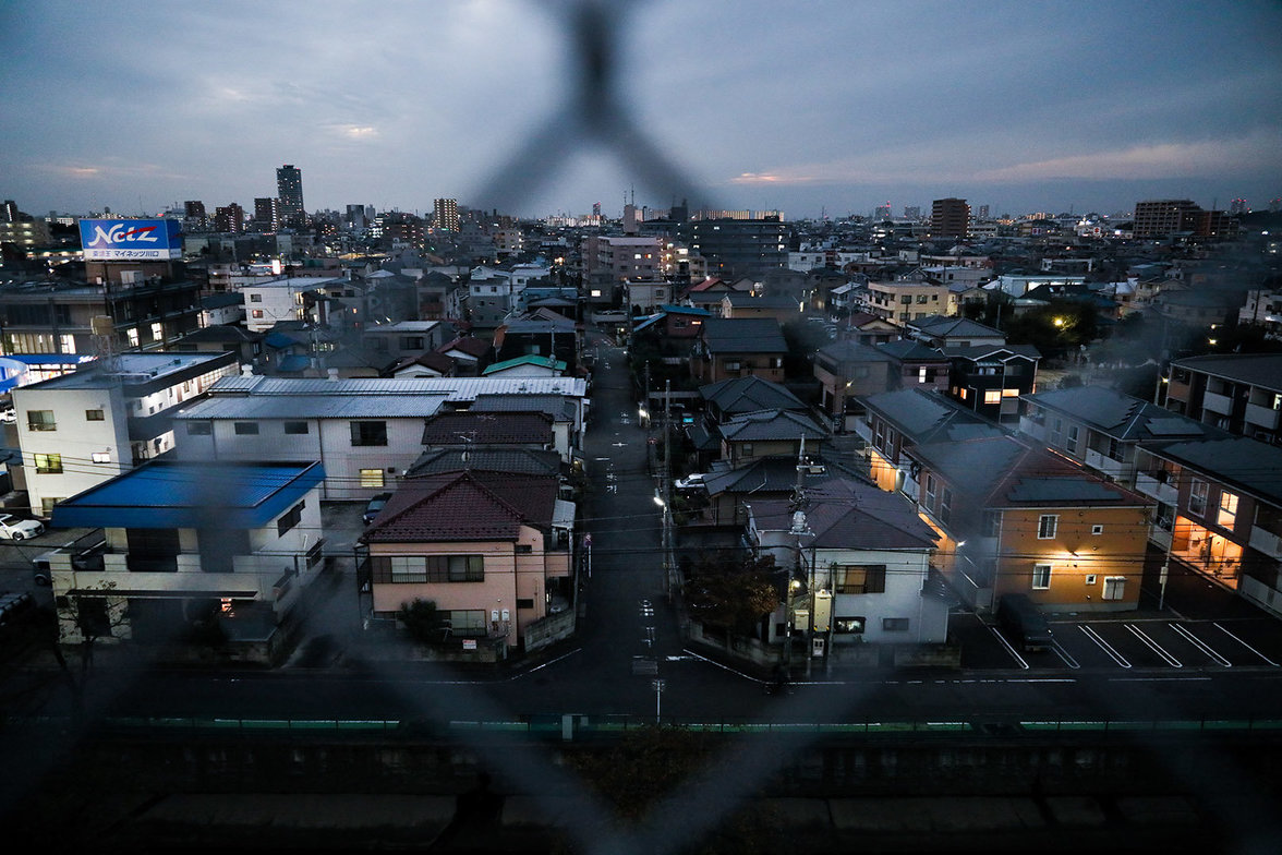 A view of Warabi, an industrial city north of Tokyo. Kurdish people who live here use to call this area Warabistan. Here, a community of 1300 people live in a perpetual limbo, seeking protection as refugees, and in the meanwhile they work illegaly, almost
