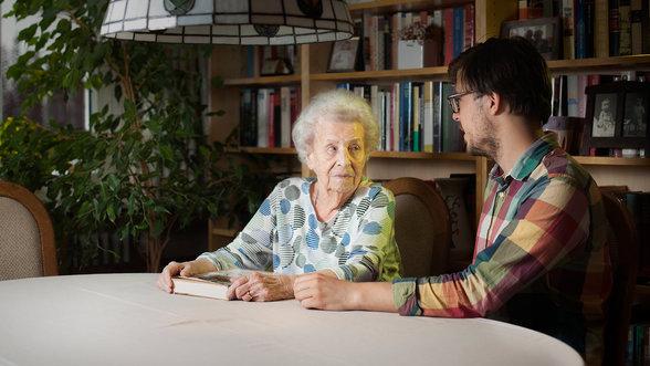Fabian und seine Oma