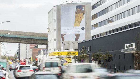 Zensiertes Egon Schiele Plakat