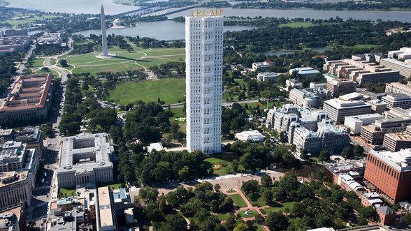 Das Weisse Haus als Trump Tower
