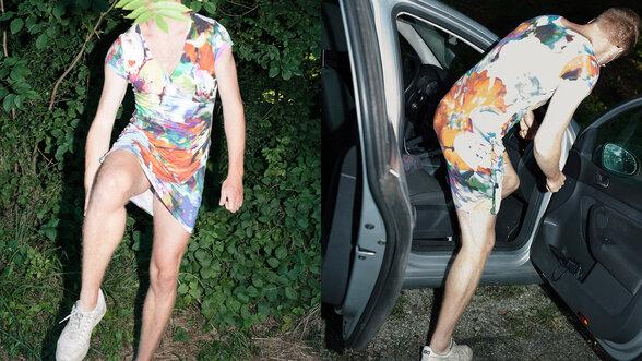 Frau sucht mann der ihre kleider trägt