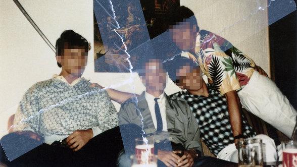Von der Stasi zerrissenes Foto