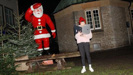 Amerikanische Weihnachtsgrüße.Frohe Weihnachten Oder Schöne Feiertage