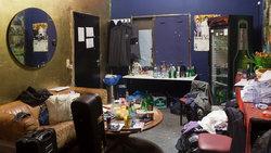 Backstageraum in Hamburg