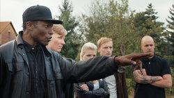 "Filmszene aus ""Der schwarze Nazi"""