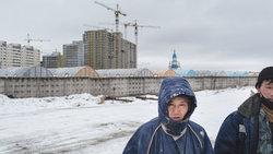 Nordkoreanische Arbeiter in Russland