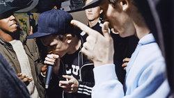 Junge Männer beim Rappen (Foto: Ewen Spencer)