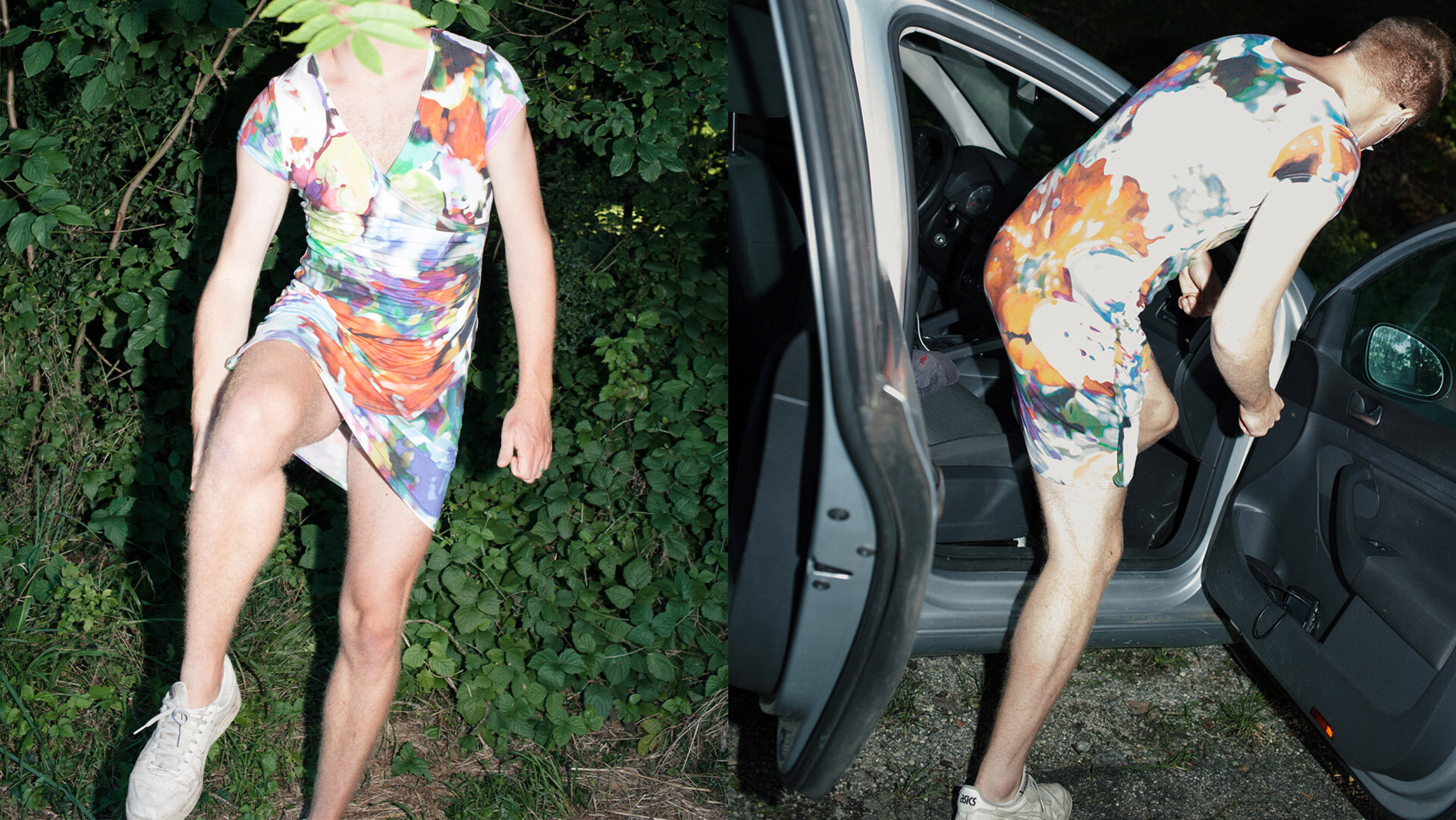 Was passiert, wenn ein Mann ein Kleid trägt