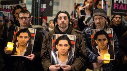 Mahnwache für den saudischen Blogger und Aktivisten Ralf Badawi