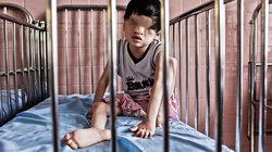 Kind ohne Augen