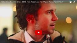 Felix Kossmann auf der Berlinale