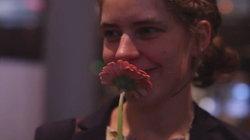 Die Regisseurin Malina Mackiewicz auf der Berlinale