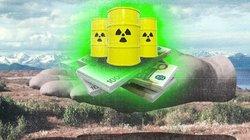 Schön weit weg mit dem Zeug: Immer mal wieder gab es für den deutschen Atommüll Reisepläne nach Sibirien