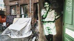 Alte Häuser werden durch Graffiti erst schön. Nicht jeder teilt diese Auffassung