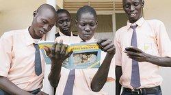 Der Südsudan schneidet im HDI-Ranking mit Platz 169 eher schlecht ab. Etwa jeder vierte Erwachsene dort kann nicht lesen. Diese Schüler der Juba Technical High School aber offensichtlich schon.