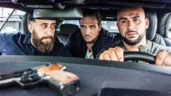 """Toni, Vince und Abbas aus der deutschen Gangster-Serie """"4 Blocks"""""""