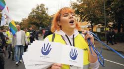 LGBTQI-Aktivistin in Polen