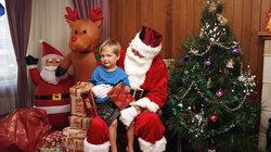 Ein Kind hat Angst vor dem Weihnachtsmann ( Foto: Trent Parke / Magnum Photos / Agentur Focus )