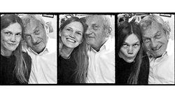 Mareike Nieberding und Papa