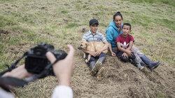 Nubia e hijos, Columbien, Corona