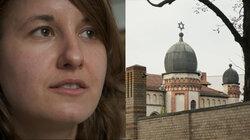 Überlebende aus Halle Synagoge berichtet