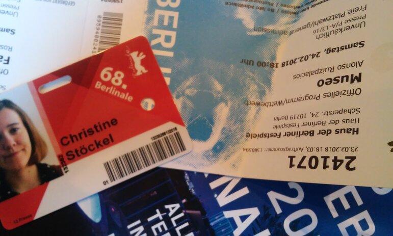 Fluter.de Berlinale Bloggerin Christine Stöckel