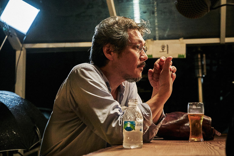 Der Regisseur Hong Sang-soo (Foto: JEONWONSA Film Co.)