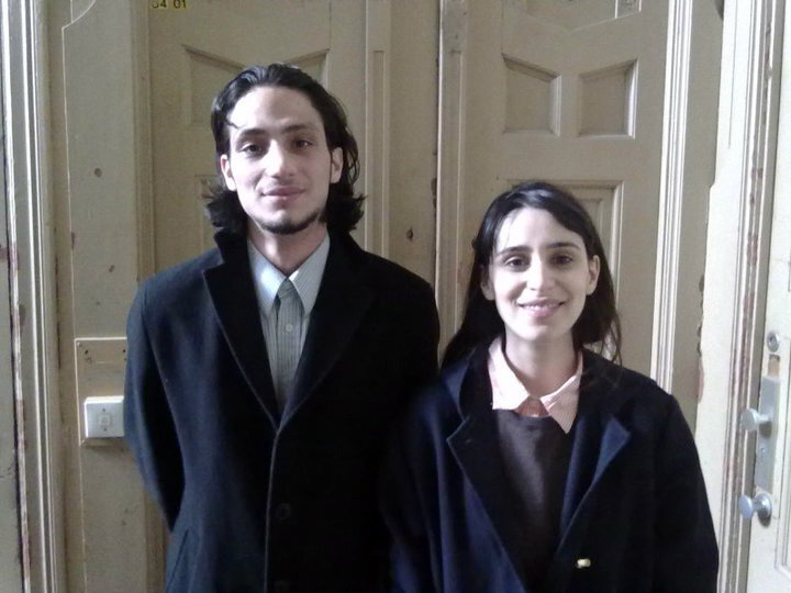 Burak Yiğit und Maryam Zaree
