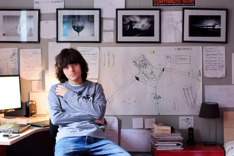 Boyan Slat (Foto: The Ocean Cleanup)