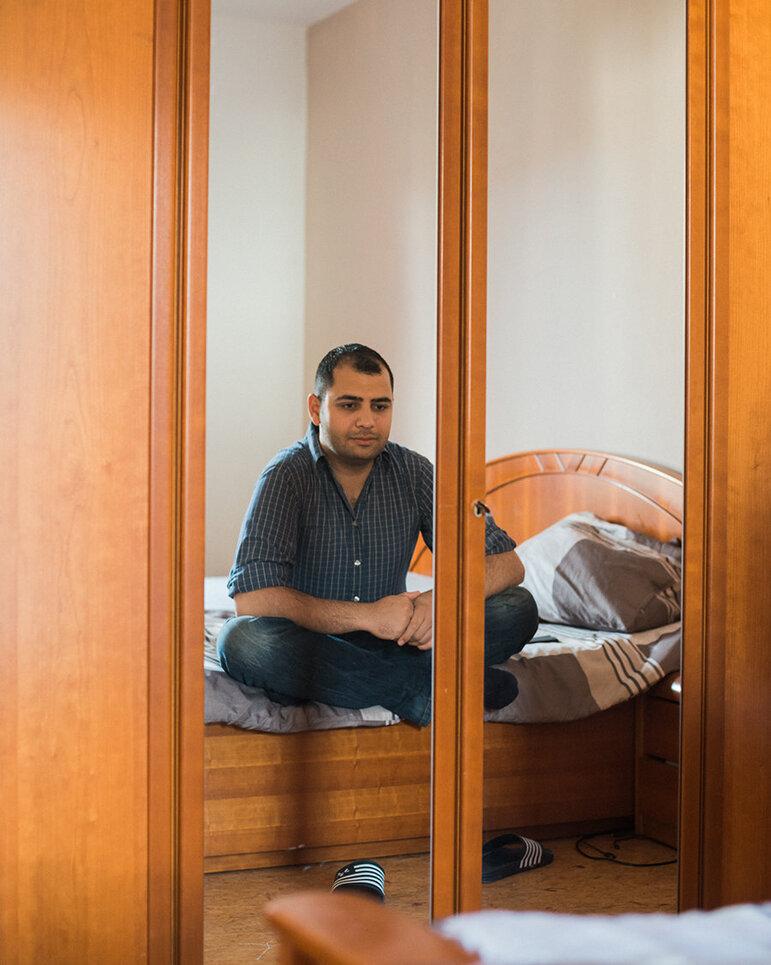 Aziz in seinem neuen Schlafzimmer (Christian Protte)
