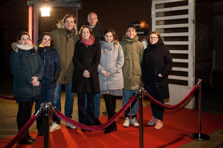 """Berlinale Sondervorführung von """"Das schweigende Klassenzimmer"""" in der JVA Tegel (Foto: Peter Kreibich)"""