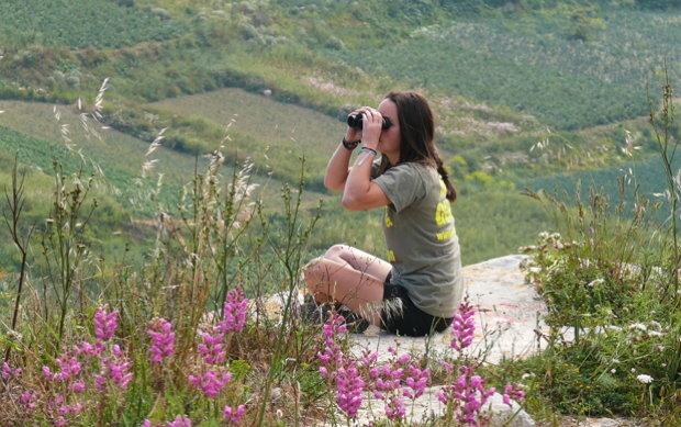Zweimal im Jahr überwachen Freiwillige die Jagdgebiete auf Malta (Foto: Komitee gegen den Vogelmord)