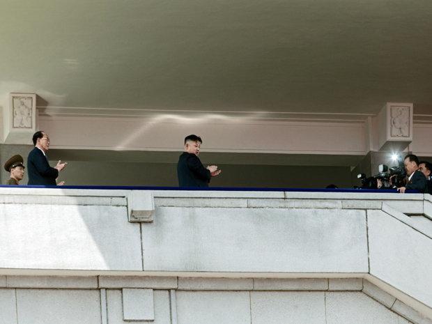 Kim Jong-un, seit 2011 Diktator Nordkoreas. Wo steht eigentlich sein Wohnpalast? (Kim Jong-un, seit 2011 )