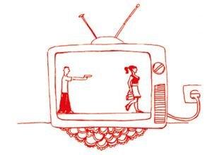 Bilder aus eigener Erfahrung gegen Medienbilder, die sich verfestigt haben (Illustration: Alexandra Klobouk)