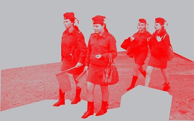 """Zum Gedenken an den """"Großen Vaterländischen Krieg"""" kommen viele Schulklassen ins ehemalige Stalingrad"""